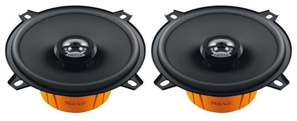Hertz DCX 130.3 - Коаксиальная АС; 65 - 21000 Гц; 4 Ом; полос 2; 40 Вт (номинальная), 80 Вт (максимальная); 13 см (5 дюйм.)