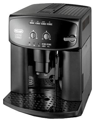 Delonghi ESAM 2600 - эспрессо, автоматическое приготовление; кофе - молотый / зерновой; нагреватель - термоблок; резервуар 1.8 л; макс