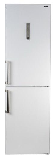 Sharp SJ-B336ZR-WH - (холодильник, 315 л (клим.класс SN, T), компрессоров 1, камер 2, дверей 2. Хол-ник 221 л (разм. No Frost). Мор-ник 94 л (разм. No Frost). ШГВ 60x65x200 см. Дисплей есть. Управление электронное. Энергопотр-е класс A+ (309 кВтч/год). белый / пластик/металл)