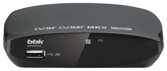 TV-тюнер BBK SMP002HDT2 dark grey SMP002HDT2 темно-серый