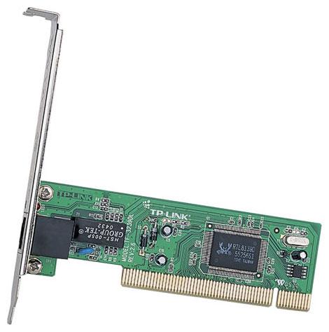 Сетевая карта TP-LINK TF-3239DL PCI - PCI 2.2, 32 бит, 10/100 Мбит/с, разъемов: 1