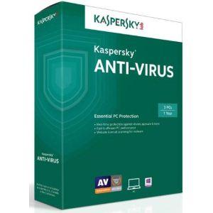 Kaspersky Antivirus, 2016, на 2 ПК, базовая лицензия на 1 год - устройства - 2 ПК; срок - 1 год; базовая; русский KL1167RBBFS