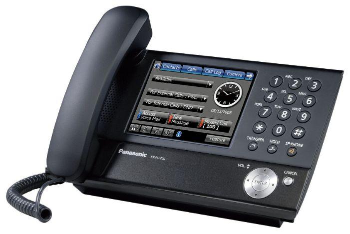 VoIP-������� Panasonic KX-NT400RU, WAN, LAN, ���� ������������ ������
