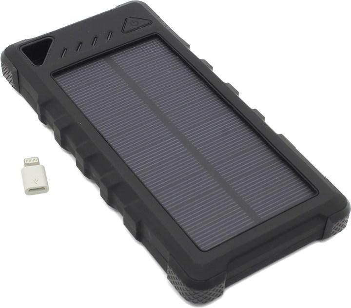 KS-IS KS-303 20000mAh black - (20000 мАч; 2.4 А; Вход - micro USB / Выход - USBx2 • Индикатор заряда - есть.)