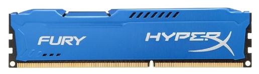 ����������� ������ Kingston HyperX Fury 8Gb (DDR3 DIMM, 1866MHz), Blue HX318C10F/8