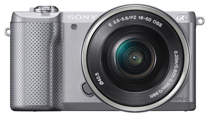 ����������� Sony Alpha A5000 Kit 16-50 Silver ILCE5000LS.CEC