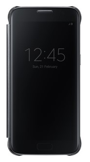 Чехол Samsung для Samsung Galaxy S7 Clear View Cover Black