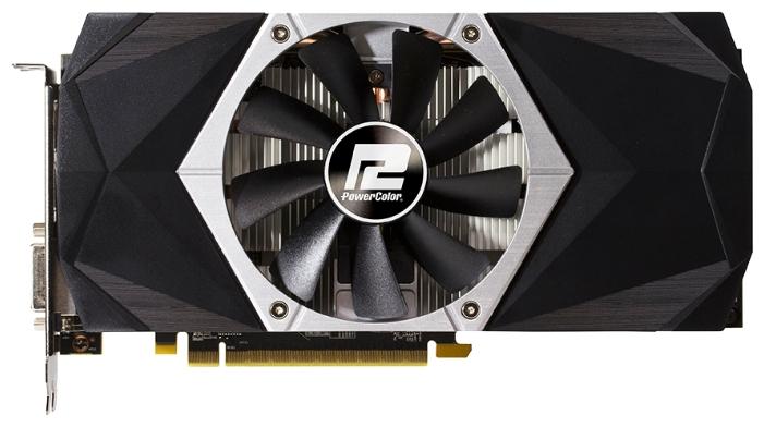Видеокарта PowerColor Radeon RX 470 1210Mhz 4096Mb (AXRX 470 4GBD5-3DHDV2/OC)