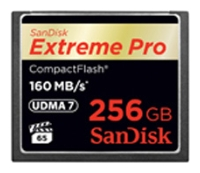 ����� ������ SanDisk Extreme Pro CompactFlash 160MB/s 256GB, SDCFXPS-256G-X46