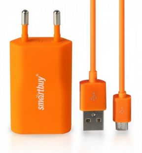 Зарядное устройство SmartBuy SATELLITE Combo Orange SBP-2650
