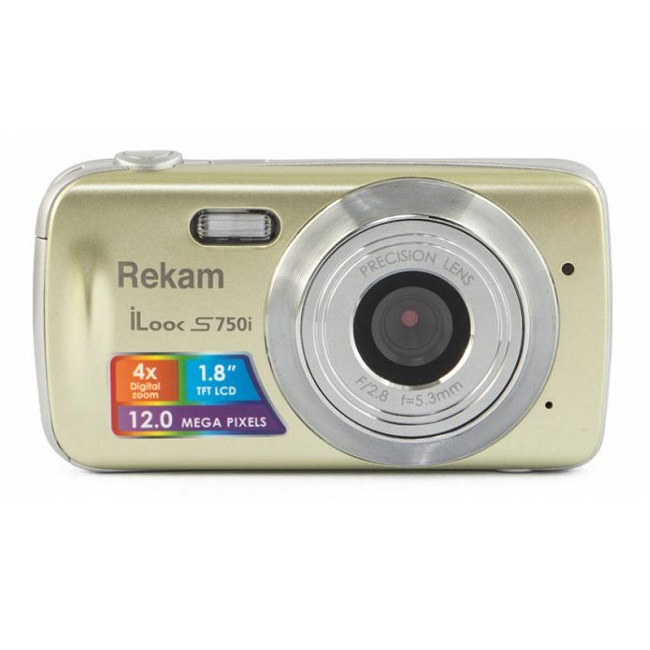 Rekam iLook S750i gold - (12 млн, 1280x720, 1.80 дюйма)
