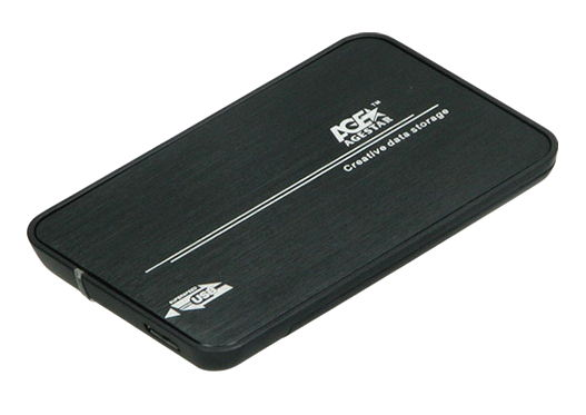 "AgeStar 31UB2A8C (USB3.1c), Black - USB 3.1 (C) • Мест для накопителей - 1 (SATA I-III, 2.5"") 31UB2A8C BLACK"