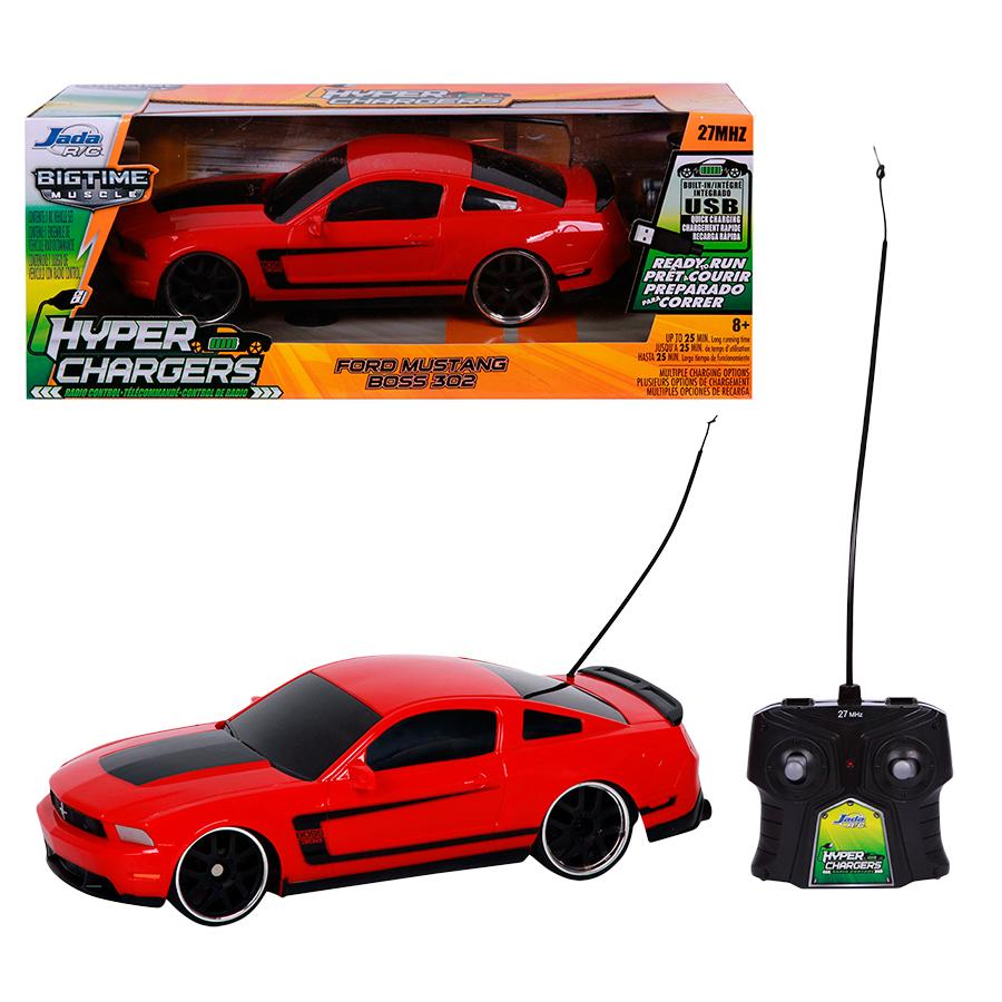 Радиоуправляемая игрушка Jada Toys Машинка Ford Mustang Boss 302 1/16 (id:15830)
