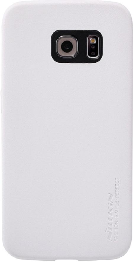 Nillkin Victoria series для Samsung Galaxy S6 Edge White - (Samsung Galaxy S6 Edge; поликарбонат, искусственная кожа)