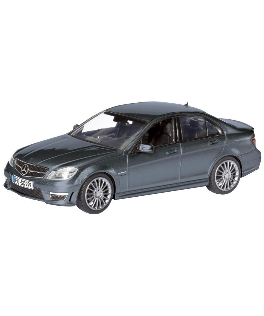 Машинка Schuco Mercedes-Benz C63 AMG Mopf, grey