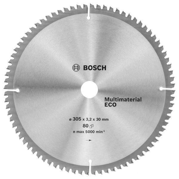 Bosch 2608641808, универсальный - диск отрезной; D:305 мм; d:30 мм; толщина 3,2 мм; универсальный ; 5000 об/мин