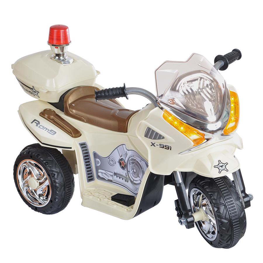 JIAJIA Электромотоцикл JT 368 Черно-бежевый УТ000028229