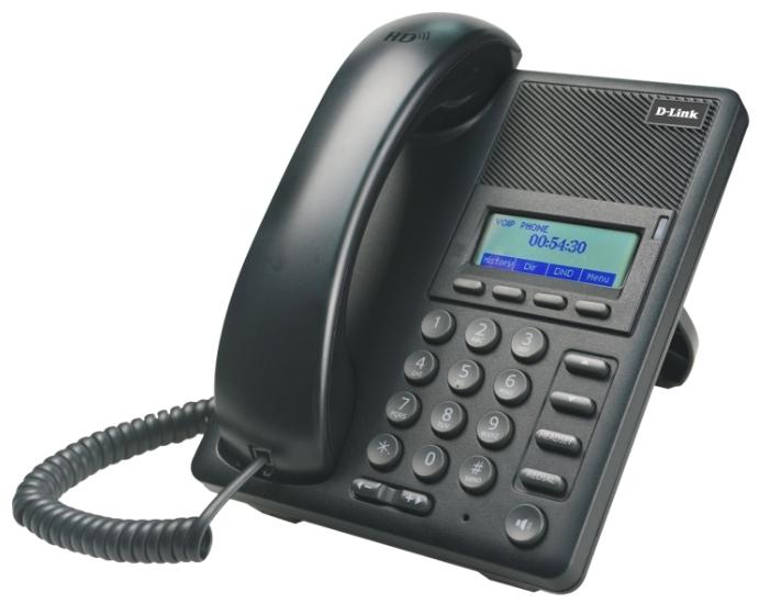 VoIP-телефон D-Link DPH-120SE/F1A, WAN, LAN, есть определитель номера