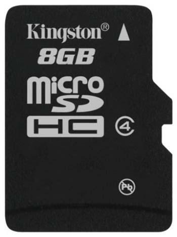 Карта памяти Kingston SDC4/8GBSP 8Gb