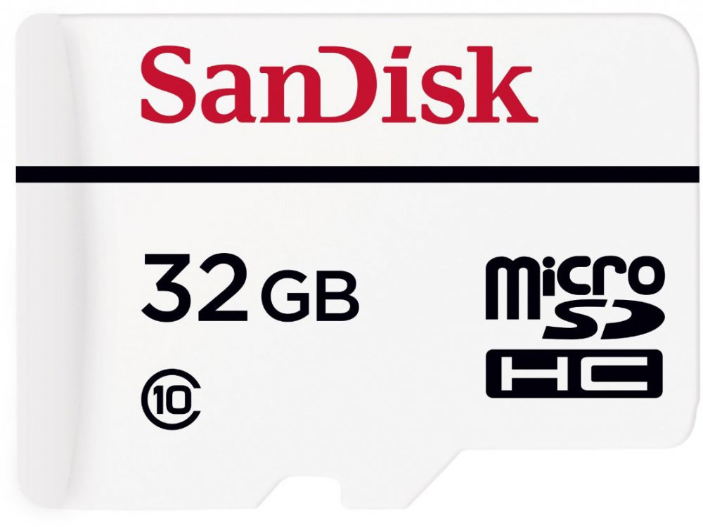 ����� ������ SanDisk High Endurance Video Monitoring microSDXC 32Gb class10 + SD adapter