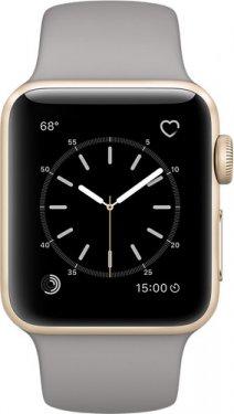 Смарт-часы Apple Watch Series 2 38mm Gold Al/Grey Stone MNP22RU/A