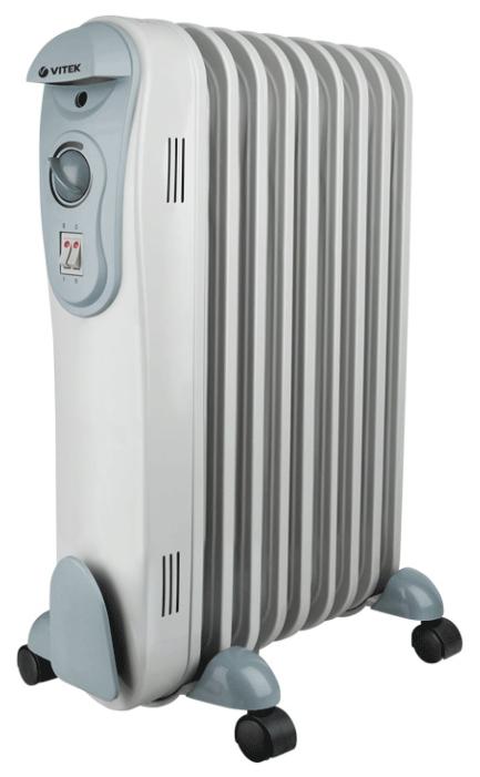 Радиатор масляный Vitek VT-2124 GY