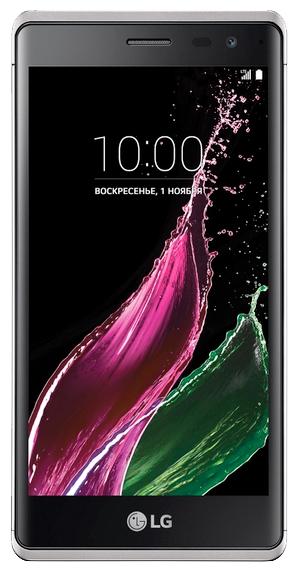 LG Class H650E, silver - (; GSM 900/1800/1900, 3G, 4G LTE; SIM-карт 1; Qualcomm Snapdragon 410 MSM8916, 1200 МГц; RAM 1.50 Гб; ROM 16 Гб; 2050 мА?ч; 13 млн пикс., светодиодная вспышка; есть, 8 млн пикс.)