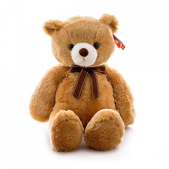 Aurora Медведь коричневый (65 см.) - Медведь; материал(ы) высококачественный плюш и гипoaллepгeнный cинтепoн; возрастная группа 3+