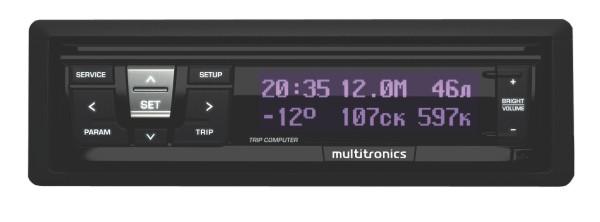Multitronics RI-500 - 9 - 16 В; Экран ЖК, цветной, 80 мм; Мультидисплей есть Multitronics_RI-500
