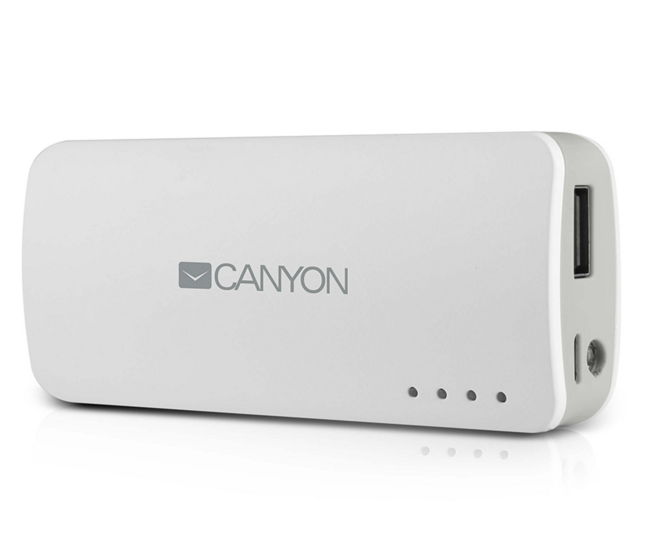 Аккумуляторная батарея Canyon CNE-CPB44W, White H2CNECPB44W