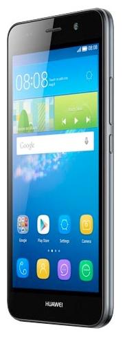 Huawei Ascend Y6 LTE SCL-L21 Black - (; GSM 900/1800/1900, 3G, 4G LTE; SIM-карт 1; Qualcomm Snapdragon 210 MSM8909, 1100 МГц; RAM 2 Гб; ROM 8 Гб; 2200 мА?ч; 8 млн пикс., светодиодная вспышка; есть, 2 млн пикс.)
