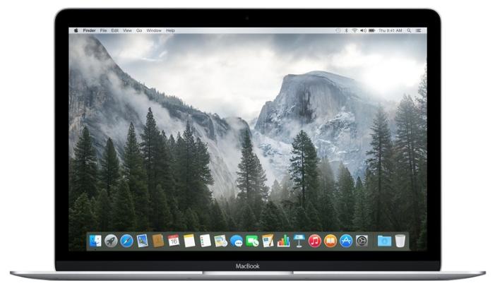 Apple MacBook Early 2015 (Z0QT0001U), Silver - (Core M 1300 МГц. Экран 12 дюймов, 2304x1440, широкоформатный TFT IPS. ОЗУ 8 Гб LPDDR3 1600 МГц. Накопители SSD 512 Гб; DVD нет. GPU Intel HD Graphics 5300. ОС MacOS X)