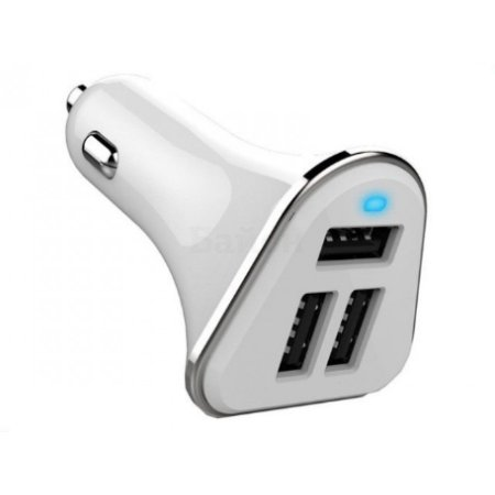 Зарядное устройство Wiiix UCC-3-1W, 2A+2.4A+2.4A, white