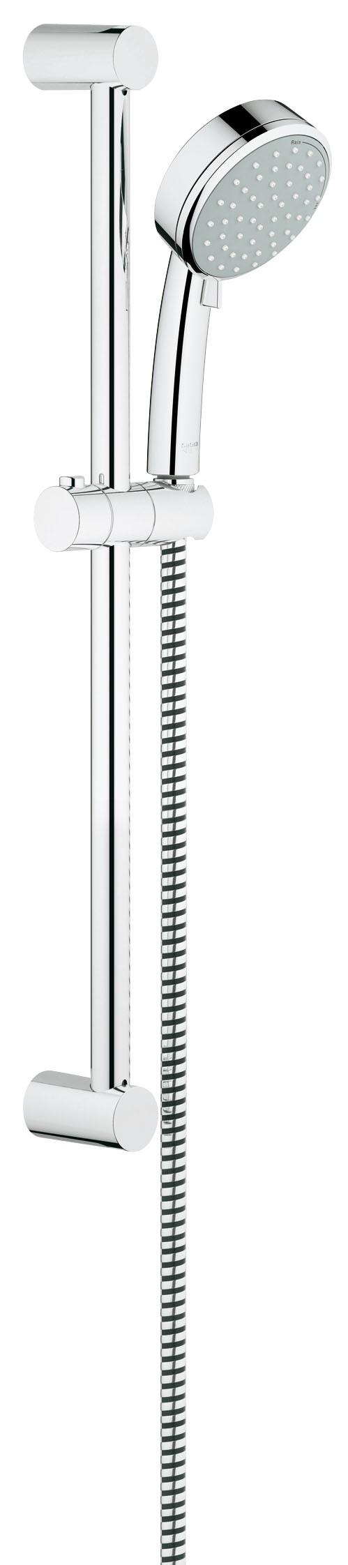 Grohe 2757810E Tempesta Cosmopolitan (ручной душ, штанга 600 мм, шланг 1750 мм), хром (2757810E)