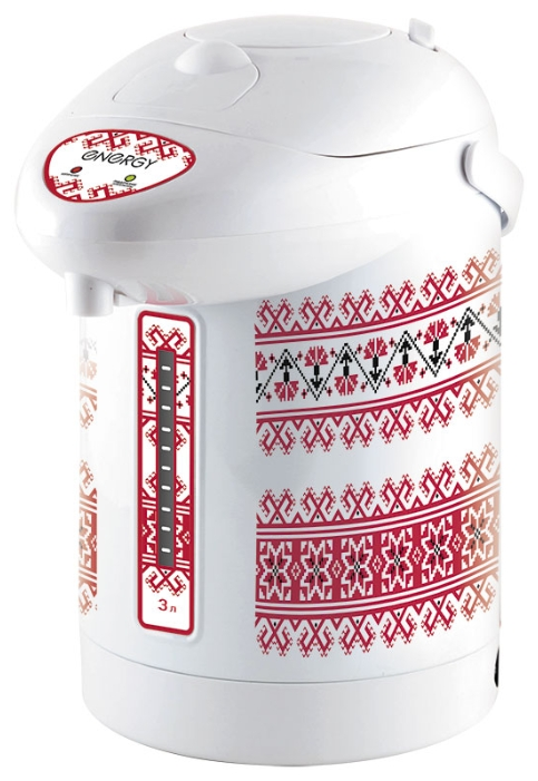 Термопот Energy TP-616, white with red print