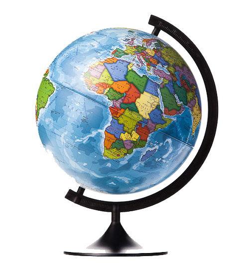 Globen Классик 320 (К013200016), политический - Глобус Земли политический; диаметр 320 мм