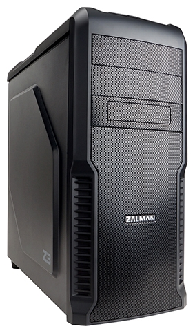 Zalman Z3 Black - черный, ATX, mATX, Midi-Tower, БП нет, 2 внутр. 5.25'', 4 внутр. 3.5'', USB x3, включая один USB 3.0, наушники, микрофон