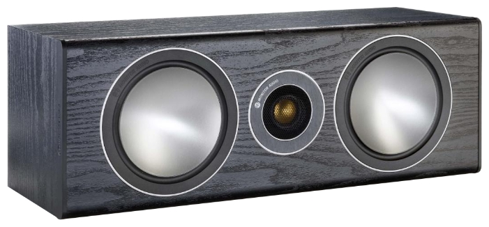 Monitor Audio Bronze Centre Black Oak - полочная, пассивная, закрытого типа; центральный канал (1 громкоговоритель); полос 2; 60-30000