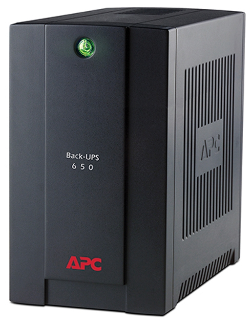 ИБП APC by Schneider Electric Back-UPS 650VA BC650-RS