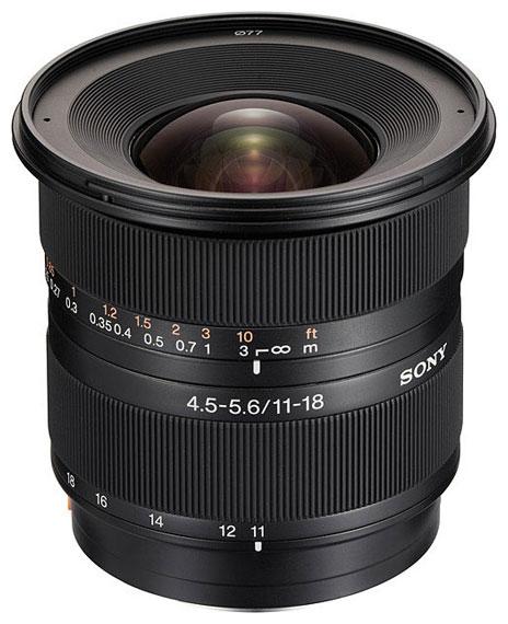 Фотообъектив Sony DT 11-18mm f/4.5-5.6 (SAL-1118) SAL1118.AE