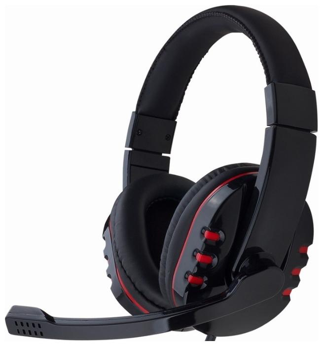 Gembird MHS-782 - (Наушники: 20 - 20000 Гц; 32 Ом; мониторные. • Микрофон: есть; 100 - 16000 Гц; конденсаторный/электретный; ненаправленный. • Подключение: 1.8 м; 2 x mini jack 3.5 mm.)