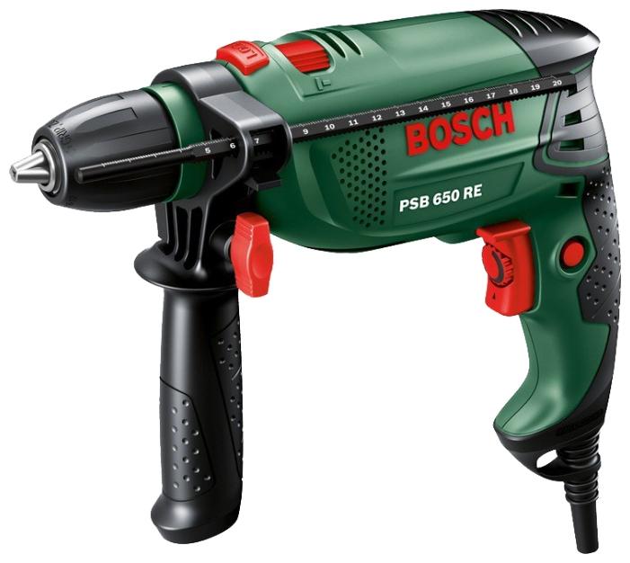 Дрель Bosch PSB 650 RE Case (БЗП) 0603128020