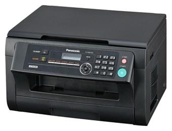 PANASONIC KX-MB2000RUB, Black - ((принтер/сканер/копир); A4; черно-белая; печать 24 стр/мин (ч/б А4) • Печать на: пленках, глянцевой бумаге, конвертах, матовой бумаге)