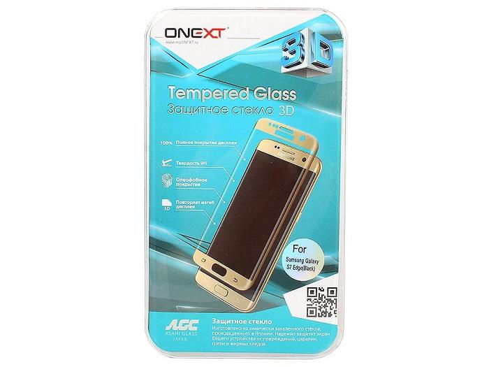 Onext для Samsung Galaxy S7 Edge 3D, black