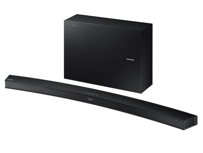 Комплект Samsung HW-J6000R (саундбар и сабвуфер), Black