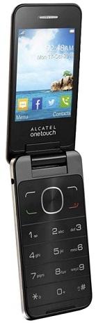 Alcatel One Touch 2012D, Gold - (2.8 дюйм., 320x240, 16 Мб, microSD (TransFlash), объемом до 8 Гб, кол-во SIM-карт: 2, фотокамера: 3 млн пикс.)