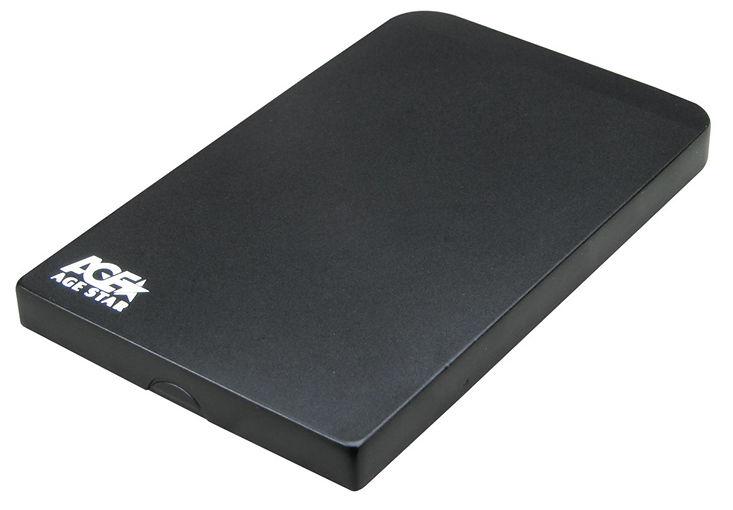 Корпус для жесткого диска AgeStar 3UB2O1, Black 3UB201