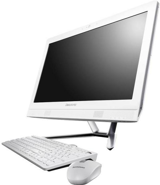 "Lenovo C40-30 (F0B400Y4RK), White - (Intel Core i3 5005U; 4 Гб; 500 Гб; ODD - DVD+-RW/DL • Экран 21.5"" 1920x1080; Intel GMA HD • LAN 10-1000 Мбит/с; Wi-Fi 802.11 b/g/n; Bluetooth есть • DOS)"