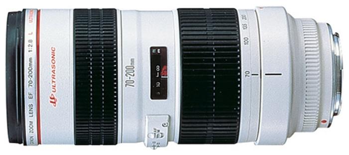 Canon EF 70-200mm f/2.8L USM (2569A018) - телеобъектив Zoom; ФР 70 - 200 мм; ZOOM 2.9x; F2.80 • Автофокус есть.