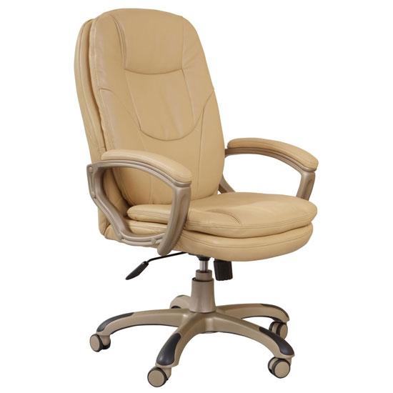 Бюрократ CH-868YAXSN Biege - (; регулировка выс.сидения - 500 - 580 мм; нагрузка на сидение 120 кг; механизм качания - С фиксацией в вертикальном положении, Регулировка жесткости под вес)